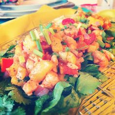 Faboosh Rouge: Sweet Shrimp Salad (Salad)