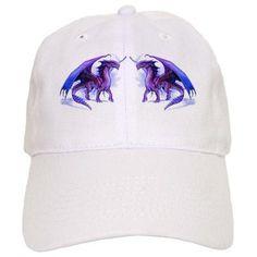 Purple Dragons Baseball Cap on CafePress.com