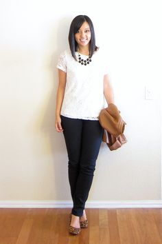 Neutrals, Lace, and Leopard - Putting Me Together