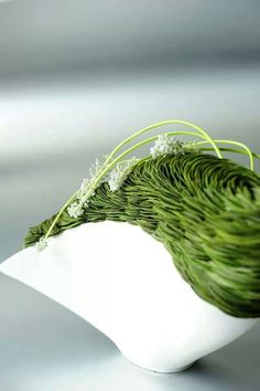Gregor Lersch, grass sculpture…