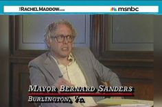 I grew up in Burlington and met Bernie several times on Church Street--HE'S THE REAL DEAL!