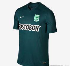 Nova segunda camisa do Atlético Nacional Nike 2015
