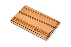 Presenting a card from an exceptional and remarkable wooden card holder is another way of expressing your personality.