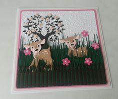 Cards made by Beckie: Deer Card