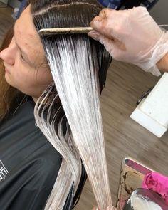79 Likes, 2 Comments - Denver Balayage And Hair Color ( on In. 79 Likes, 2 Comm Hair Color Balayage, Hair Highlights, Ombre Hair, Balayage Hair Tutorial, Balayage Technique, Beliage Hair, Men Hair, Hair Color Formulas, Hair Color Techniques