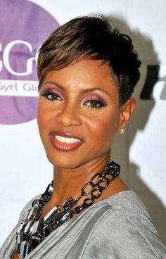 Short Hairstyles for Black Women with Thin Hair Look Thick | Short ...this looks like me in 20years lol
