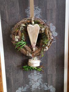 Aktuelles aus dem Laden – Blütezeit Grapevine Wreath, Grape Vines, Wreaths, Fall, Hearts, Home Decor, Autumn Decorations, Easter Bunny, Autumn