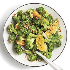 Orange-Sesame Broccoli | MyRecipes.com
