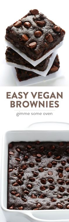 Gimme some oven makes these killer vegan brownies...and you can too!