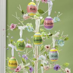 Easter decorations.