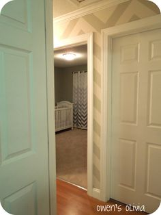 Remodelaholic » Blog Archive Ombre Painted Chevron Curtains Tutorial » Remodelaholic
