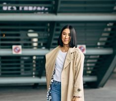 Fall will soon be here but that's good news for your outerwear. These are the trench coats that you'll NEED come fall. Trench Coats, Fashion Pictures, Good News, Casual Looks, Autumn Fashion, Blazer, Fall, Womens Fashion, Jackets
