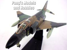 McDonnell Douglas F-4 Phantom II USAF 1/100 Scale Diecast Model by Amercom