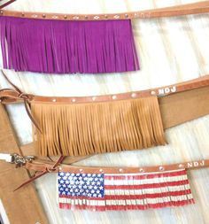 Fringe reins www.ndjdesigns.com ndjdesigns@yahoo.com Western Horse Tack, Barrel Racing, Saddles, Leather Working, Horses, Design, Roping Saddles, Horse, Design Comics