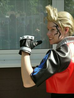 #zell cosplay from final fantasy viii