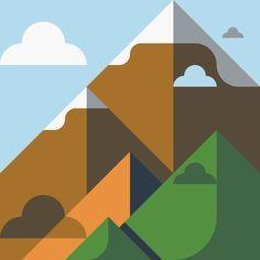 2D texture landscape vector - Google Search