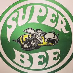 Dodge Super Bee logo ... AWESOMELY cool!!