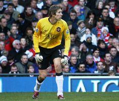 Edwin van der Sar, just the best goalkeeper alive. He is still my favourite football player! :)