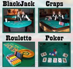 #Blackjack #Craps #Roulette #Poker