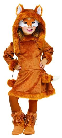 Sweet Fox Dress Costume Child Toddler