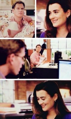 I wish Ziva came back alive with Tali. They would have been the best family ever!  SAME