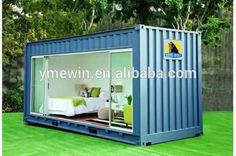 Build Container Home 522980575468525163 - chalet-de-jardin-habitable-chambre-amis-baie-vitrée-coulissante.jpg 750 × 506 pixels Source by mylenefroger Building A Container Home, Container Buildings, Container Architecture, Container Houses, Container Cabin, Sustainable Architecture, Container Office, Cargo Container, Container Store
