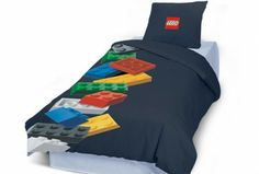 Lego Bedding and Bedroom Decor Boys Lego Bedroom, Boy Room, Minecraft Bedroom, Boy Bedrooms, Minecraft Furniture, Playroom, Bedroom Themes, Bedroom Decor, Bedroom Furniture