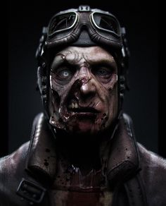 zombie pilot 2008, Jonathan Derby on ArtStation at https://www.artstation.com/artwork/4zXWq
