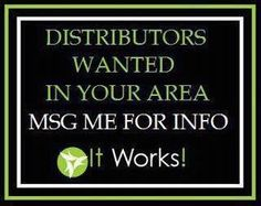 Join my Team!  Contact me today!  No matter where you live! You can join for the promotional price of $99 TODAY!    https://dontworrybewraphappy.myitworks.com/Home