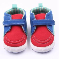 6844a25e502c74 New Fashion Soft Sole Baby Canvas Shoes Baby Toddler Casual Shoes For –  DewdomXpress