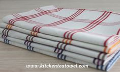 Dish towels were finished production