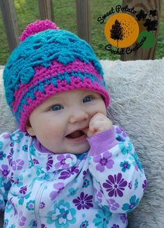 The Dancing Aspen Beanie is a 2 layered beanie that is sure to keep your little one nice and toasty now that it is starting to get cooler out. The bottom hat layer is a fitted beanie and the second…