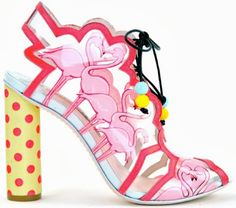 COLLECTION : Sophia Webster Spring 2013 Footwear Collection ~ Glowlicious