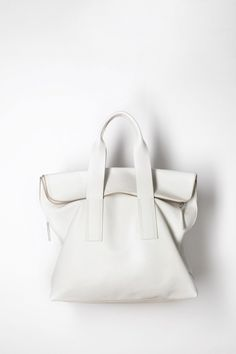 Sac en cuir blanc / Phillip Lim Purse