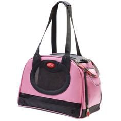 Argo by Teafco Petaboard Style B Airline Approved Pet Carrier, Petal Pink, Medium * Additional details at the pin image, click it  : Dog carrier