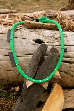 Green Necklace - Szamanka Design