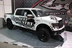 Tuff Country quad cab at #SEMA 2012