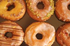 Dynamo Donuts is a specialty donut shop in San Francisco that makes donuts in really interesting flavors. Flavors such as Vanilla, Bacon, Caramel, Passionfruit, Chocolate Spice, Chocolate Rose, Chocolate Almond, Rosemary, Lemon Thyme, Apricot Cardamom, MonteCristo, and Lemon. I need to try these!