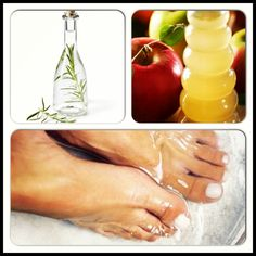 BeautyTip: Soaking feet in vinegar (apple cider being best) for the softest feet ever!!! It's also a great remedy for many problems like toenail fungus, dry feet, tired feet, etc.