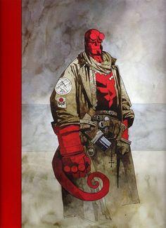 Hellboy by Mike Mignola *