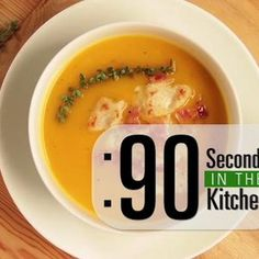 90 second gazpacho watch as chef cari with the food channel walks at the food channel when its pumpkin time its soup time chef cari forumfinder Images