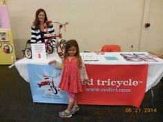 Abby and 5-year-old Paige with RED TRICYCLE, whose mission is to help busy parents have more fun with their kids. REDTRI.COM