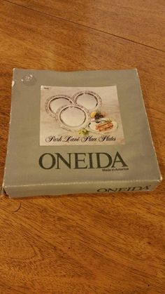 Check out this item in my Etsy shop https://www.etsy.com/listing/250410364/oneida-park-lane-place-plates-set-of-4-5
