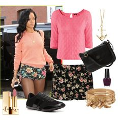 Flowerrebel by RIHANNA, created by cari24 on Polyvore