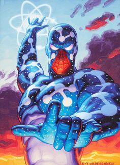 Cosmic Spider-Man(Captain Universe) by Hildebrandt Amazing Spiderman, All Spiderman, Spiderman Kunst, Marvel Comics, Hero Marvel, Marvel Vs, Captain Marvel, Comic Book Characters, Marvel Characters