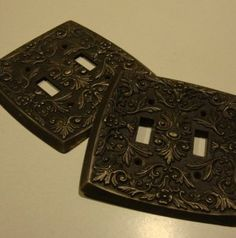 Decorative switch plates.