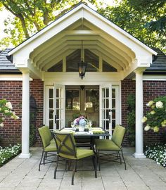 9 Georgian-style terrace - 11 inspiring outdoor living spaces