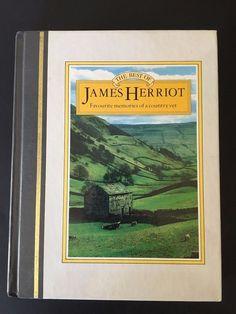 The Best of James Herriot Memories of Country Vet 1983 Hardcover 1st US Edition