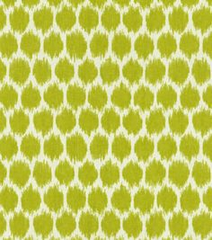 Home Decor Print Fabric-Waverly Seeing Spots Wasabi