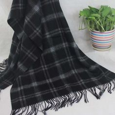 New Winter Women's Man's Jacquard Cashmere Wool Soft Warm Wrap Shawl Scarf 267